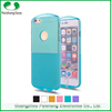 Phone case manufacturer 6 colors Transparent soft TPU flexible shockproof anti-friction case cover for iPhone 6S/ 6/ plus