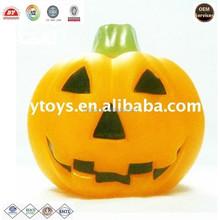 OEM vinyl pumpkin holiday gift ICTI ,ISO ,BV certificates