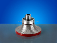 portable vacuum diamond brazed profilling wheels for CNC machine