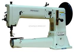 Cylinder arm single needle unison feed juki lockstitch for golf bags sewing machine price