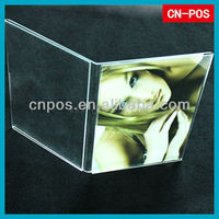 clear acrylic picture stand for displaying show