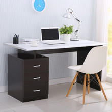 PC melamine wood computer desk design,computer desk assembly instructions for office