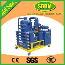 YZD Greatly Transformer oil filtration /purifier/distillation device