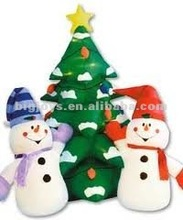 Hot pop christmas snowman tree