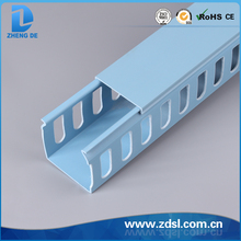 PVC Plastic Cable Wiring Duct(slotted)
