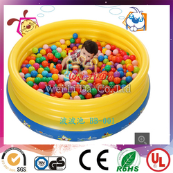 Children's inflatable wave pool,inflatable water pool