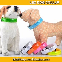 7 Color Flashing Reflective LED Collar Light Up LED Dog Collar Reflection Safety Walk Dog DC2521