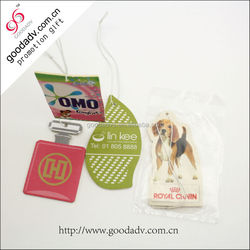 China Manufacturers cheap car fresheners / paper air freshener for hotel
