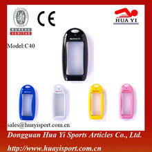 Easy to carry with high quality take picture or video recording under water silicone waterproof mobile phone case