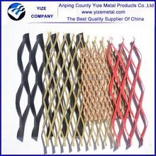 alibaba china market decoration aluminium diamond expanded metals wire mesh modern hous design