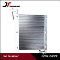 Custom Aluminum Oil Cooler For Sumitomo SH60A1 Heat Exchanger