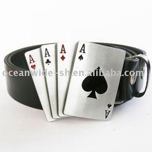 Belt (A Spade Poker Genuine Leather Belt)