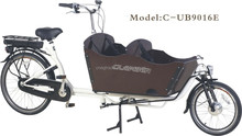 2015 hot sales inter 3 speeds electr cargo bike/ family bike model UB9016E