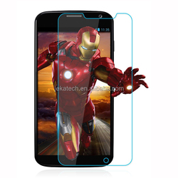 Factory supply 0.33mm 2.5D Rounded Edges Tempered glass screen protector for MOTO X