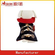 COO-006 New York Dog Wool Toggle Coat Pet Outwear