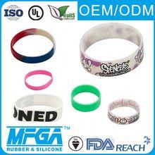 silicone decenario bracelets