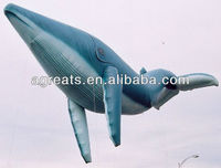 inflatable whale helium balloon can be custom made S3024