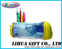 Color Money Pencil Case For Students