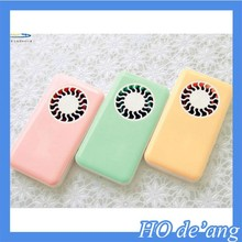 HOGIFT mini portable small size powerful quiet plastic pocket cooling fan
