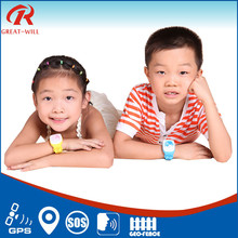 Mini GPS+LBS Dual positioning GSM running kids Wrist Watch Tracker