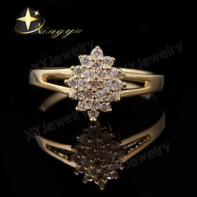 Ladies Gold Plated Fashion Finger Ring