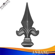 2014 hot sale wrought iron spearhead