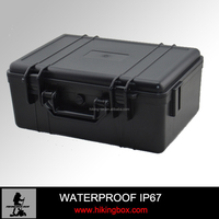 Hard PP Plastic equipment case /waterproof storage carrying case Factory price HIKINGBOX HTC010-2