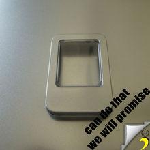 87*60*20 half window usb metal tin box