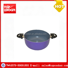 New design aluminium press ceramic hot pot