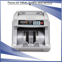 Automatically LED display bank note currency money counting machine