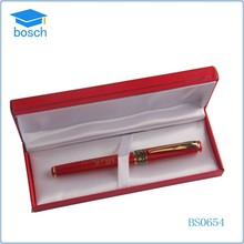 Chinese metal red color big ball pen for gift item