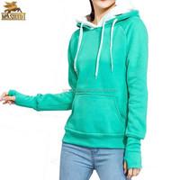 top brands wholesale blank ladies warm pullover hoodies