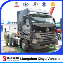 2015 Brand new 420hp sino truck howo a7 tractor truck 6x4 for sale