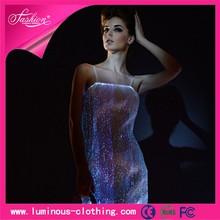 Lo nuevo de fibra óptica ropa vestido de lujo de hawai modelo para mujeres