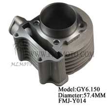 GY6 150CC cylinder block for popular scooter KYMCO 139QMB
