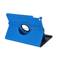 2015 New 360 Rotation PU leather case for Ipad 6/Ipad air 2