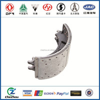Dongfeng Truck Spare Parts Brake Shoes Friction Of Assembly 3502ZS10-090
