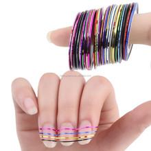 10 Rolls Striping Tape Line Nail Art Decoration Sticker