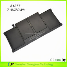laptop battery for Apple MacBook A1377 battery 4cells