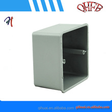 high quality aluminum electrical square switch box