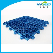 Polypropylene(PP) outdoor basketball court interlocking floor tiles