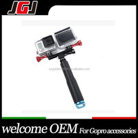 Camera Accessoires Double LED Mount Handheld Selfie Stick Monopod For Gopro Hero3/3+/4 For SJ4000 Xiaomi Yi Action Camera