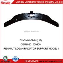 RENAULT LOGAN radiator support up oldsmobile auto parts