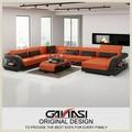 Americano sencillo sofa sofá, américa muebles clásicos, sofá de cuero con respaldo alto