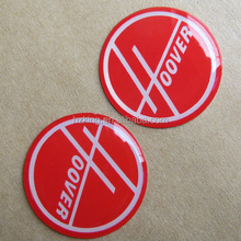 Custom made 3M adhesive domed logo decals