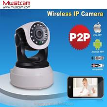 Mustcam H804P IR-cut Night Vision Pan/Tilt Onvif/WPS Mini HD Wifi P2P IP Camera