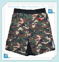 stylish quality 100 % polyester camo shorts wholesale jogging shorts for women