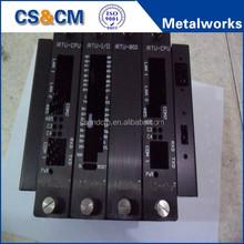 High Quality precision sheet metal service anodizing aluminum enclosure / aluminum electronic enclosure