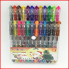 colorful gel ink pen set,soft PVC blister packing /gel pen for art
