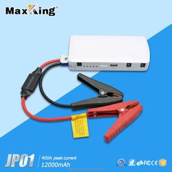 Hot selling 12v 12000mah car battery jumper multi-function jump starter portable power bank for cars phones laptop
